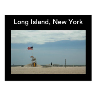 Long Island New York Jones Beach Postcard