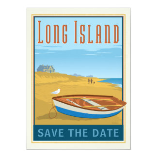 Long Island, New York | Save the Date - Photo Card