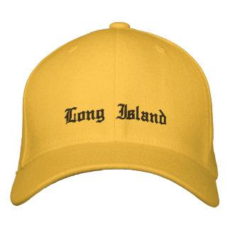 Long Island Nueva York. Gorra Gorra De Beisbol Bordada