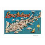 Long Island, Nueva York - saludos de Postal