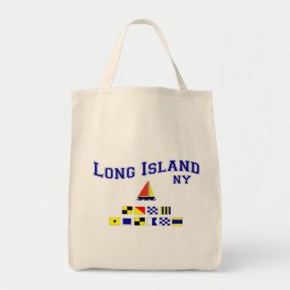 Long Island NY Signal Flags Tote Bag