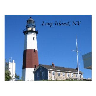 Long Island, NY Tarjeta Postal