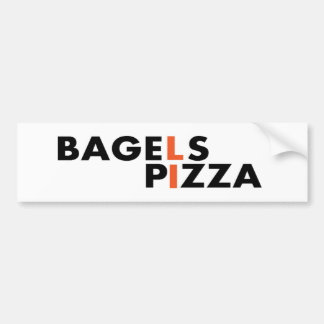 Long Island Pizza and Bagels are the best Bumper Sticker