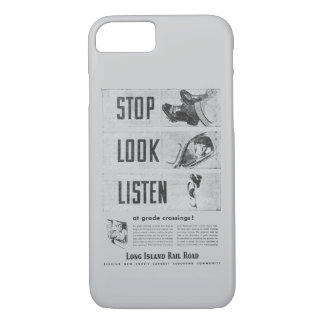 Long Island Railroad Safety iPhone 7 Case