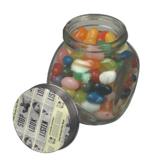 Long Island Railroad Safety Jelly Belly Candy Jars