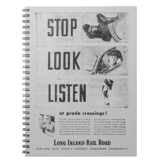 Long Island Railroad Safety Photo Notebook