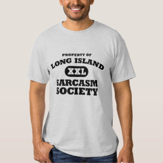 Long Island Sarcasm Society Novel Tee