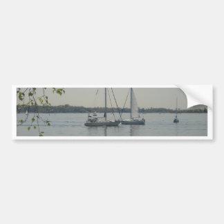 Long Island Sound Etiqueta De Parachoque