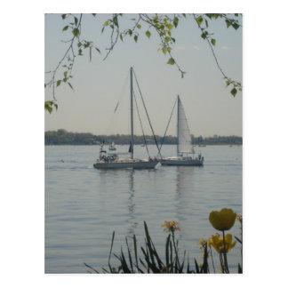 Long Island Sound Postcard