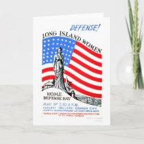 Long Island Women WWII 1941 WPA Card