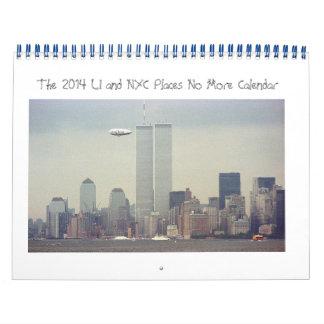 Long Island y NYC coloca no más de calendario 2014