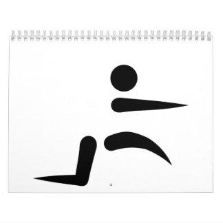 Long jump calendar