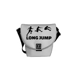 Long jump courier bag