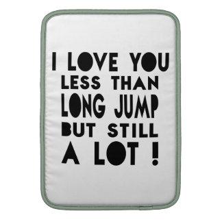 Long Jump Designs MacBook Sleeve