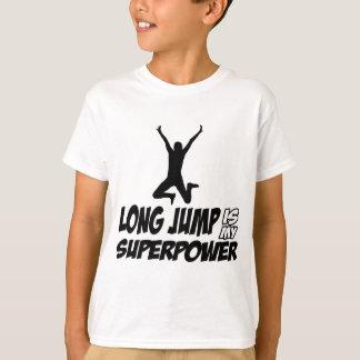 Long jump designs T-Shirt