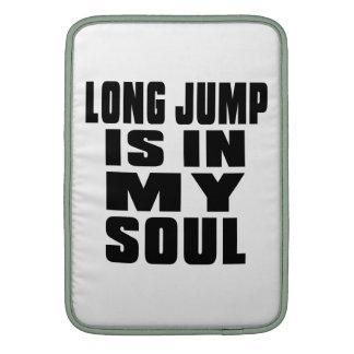 LONG JUMP IS IN MY SOUL MacBook AIR SLEEVES