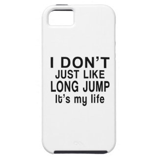 LONG JUMP IS MY LIFE iPhone SE/5/5s CASE
