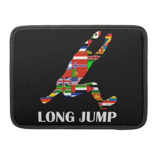 Long Jump MacBook Pro Sleeve
