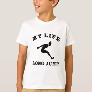 Long Jump My Life T-Shirt