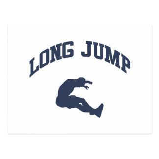 Long Jump Postcard