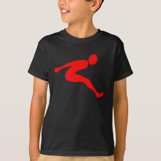 Long Jump - Red T-Shirt