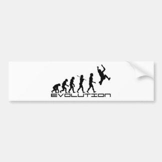 Long Jump Triple Jump Sport Evolution Art Car Bumper Sticker