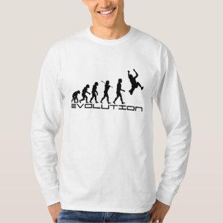 Long Jump Triple Jump Sport Evolution Art T-Shirt