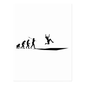 Long Jumper Postcard