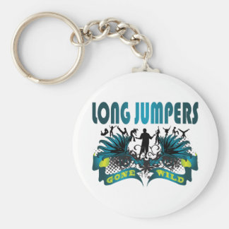 Long Jumpers Gone Wild Keychain