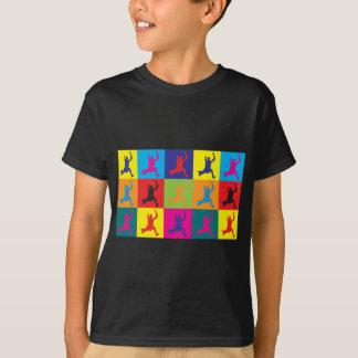 Long Jumping Pop Art T-Shirt