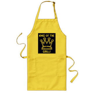 Long King of the Grill Apron