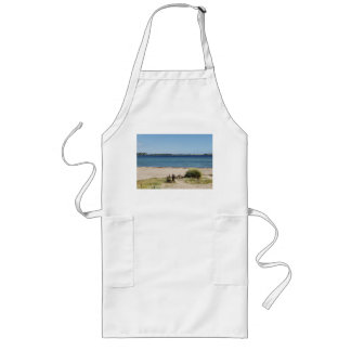 Long kitchen apron beach and sea