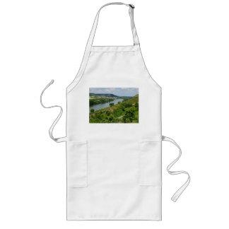 Long kitchen apron Maintal with Veithöchstheim