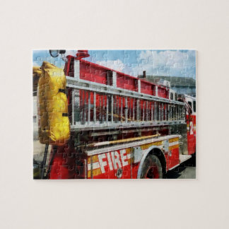 Long Ladder on Fire Truck Puzzle