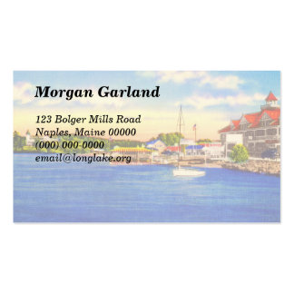 Long Lake - Naples Waterfront & Bay of Naples Inn Double-Sided Standard Business Cards (Pack Of 100)