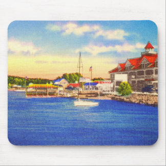 Long Lake - Naples Waterfront & Bay of Naples Inn Mouse Pad