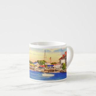 Long Lake - Naples Waterfront & Bay of Naples Inn Espresso Mugs