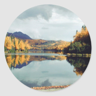 Long Lake State Park Round Stickers