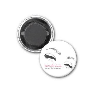 Long lashes Lash Extension Eyeliner branding Magnet
