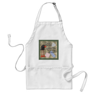 Long Legged Crow-Somethin' to Crow About Adult Apron