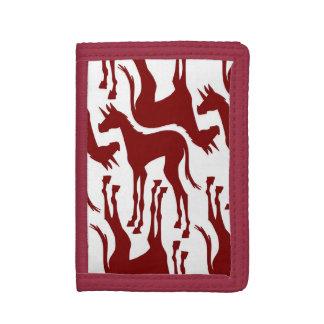 Long Legs Unicorn Tri-fold Wallet