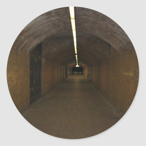 Long Lighted Tunnel Stickers