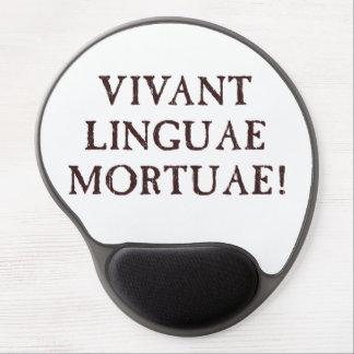 Long Live Dead Languages - Latin Gel Mouse Pad