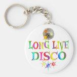 Long Live Disco Key Chain