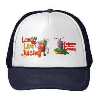 Long Live Juicing template Valxart.com Mesh Hats