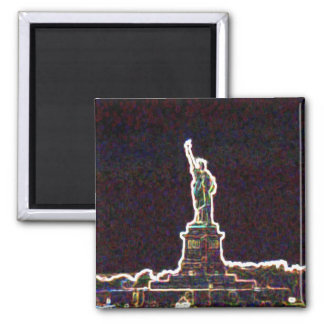 Long Live Liberty 2 Inch Square Magnet