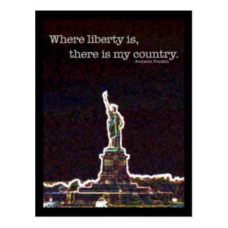 Long Live Liberty Post Cards