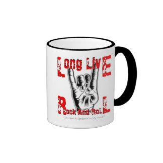 Long Live Rock And Roll Coffee Mug