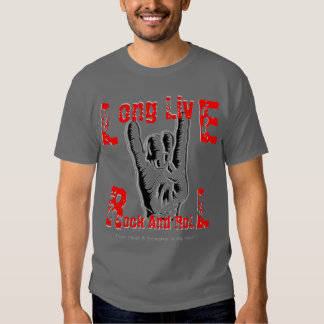 Long Live Rock And Roll (RJD Tribute T-Shirt) Shirts