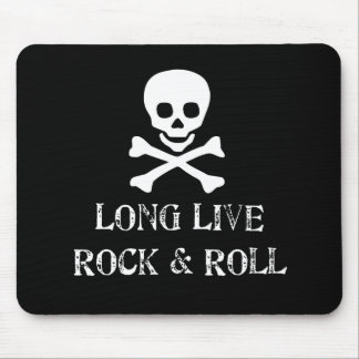 Long Live Rock & Roll Mouse Pad